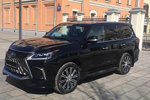 Деньги под залог ПТС авто Lexus LX (J200 рестайлинг 2) LX 570 5.7 4WD AT