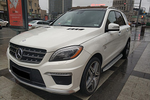 Деньги под залог ПТС авто Mercedes-Benz M-Класс AMG III (W166) 63 AMG